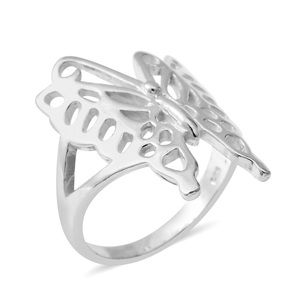 Jewelry - 2/$28 Sterling Silver 925 Butterfly Ring Sz 7